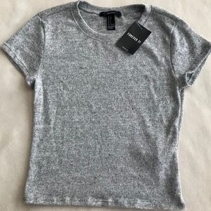 Forever 21 Heather Gray Knit Sweater Top
